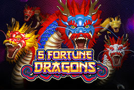 5 Fortune Dragons Slots Game
